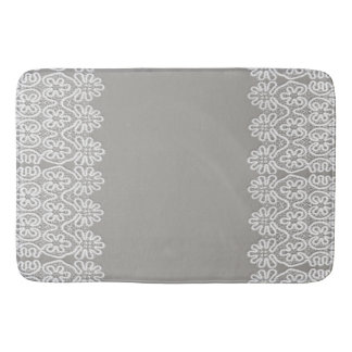 White Lace Bathmat Bath Mats