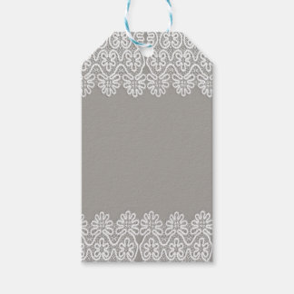 White Lace Gift Tags