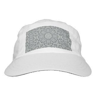 White Leaf Custom Woven Performance Hat, White Hat