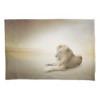 White Lion (1 side) Pillowcase