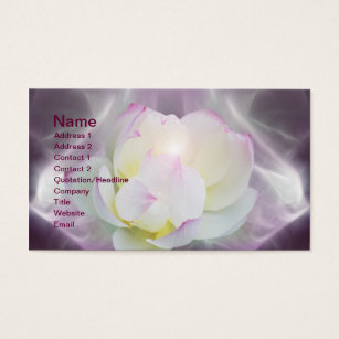 103 white lotus flower business cards and white lotus flower white lotus flower business card colourmoves