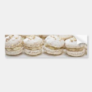 White Macaroons Bumper Sticker