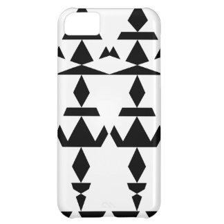 White Minimal Tribal iPhone 5C Case