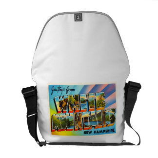 White Mountains New Hampshire NH Travel Souvenir Courier Bags