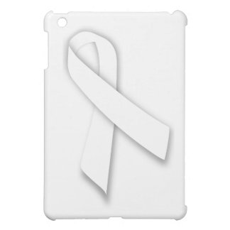 White National Day of Remembrance Ribbon Cover For The iPad Mini