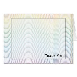 White Noise Pastel Card