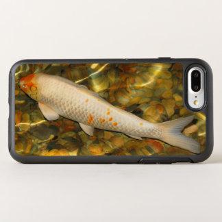 White Orange Koi Fish OtterBox Symmetry iPhone 7 Plus Case