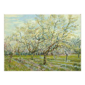 White Orchard by Vincent Van Gogh Art Photo