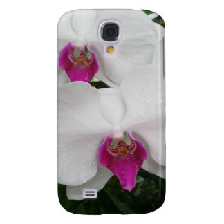 White Orchid Galaxy S4 Case