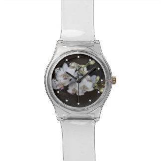 White Orchids Wristwatch