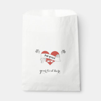 White Paper Wedding Favor Bag - Customizable Favour Bags