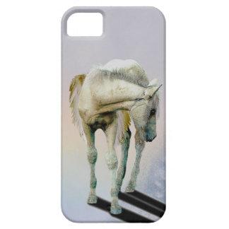 White Pegasus Equine Fantasy Art Phone Case