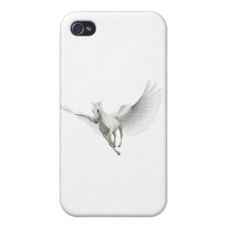 White Pegasus iPhone 4/4S Cover