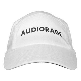 White performance hat