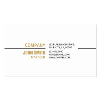 White Professional Plain Elegant Real Estate Pack Of Standard Business Cards