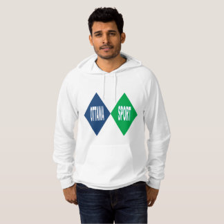 White Pullover with hood OTTAWA SPORT