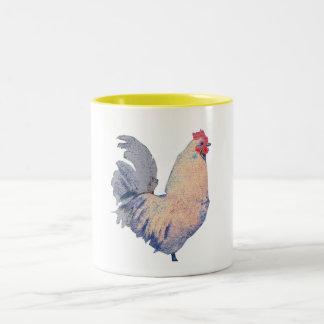 """"""" White Rooster """" # 3 Mug"""