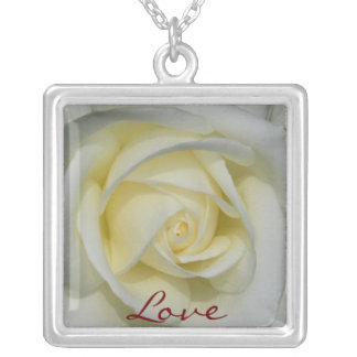 White Rose, Love necklace