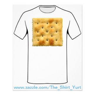 White Saltine Soda Crackers 11.5 Cm X 14 Cm Flyer