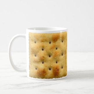 White Saltine Soda Crackers Coffee Mug