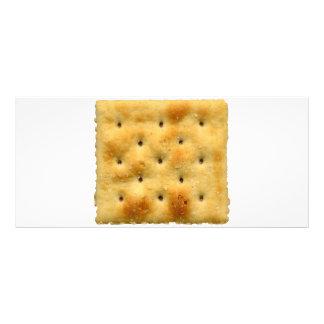 White Saltine Soda Crackers Custom Rack Card