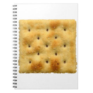 White Saltine Soda Crackers Spiral Note Book