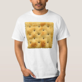 White Saltine Soda Crackers T-Shirt