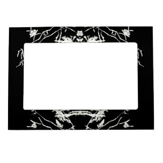 White Shapes Magnetic Frame