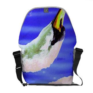 White Swan Messenger Bags
