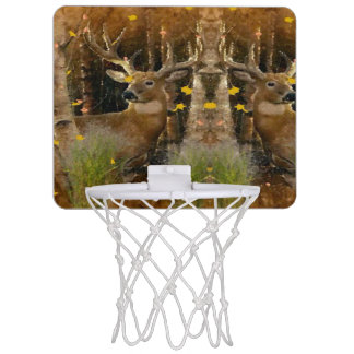 White Tail Buck Hunter Element Edition Mini Basketball Hoop