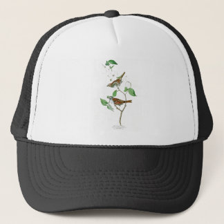 White Throated Sparrow John Audubon Birds America Trucker Hat