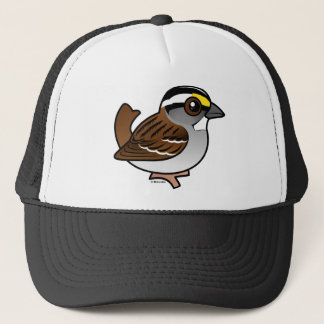 White-throated Sparrow Trucker Hat