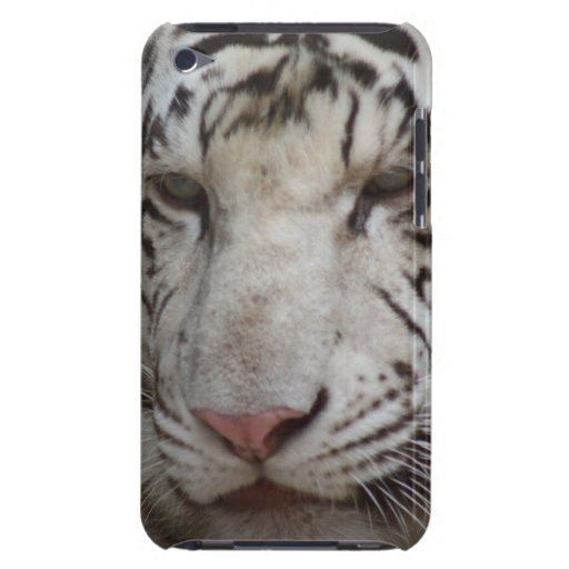 White Tiger iTouch Case Barely There iPod Case