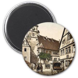 White Tower (i.e. Weisser Turm), Rothenburg (i.e. 6 Cm Round Magnet