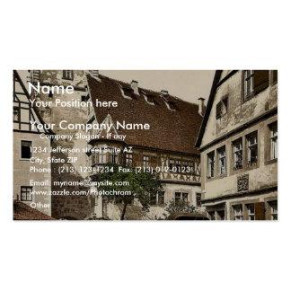 White Tower (i.e. Weisser Turm), Rothenburg (i.e. Business Card