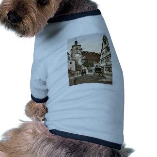 White Tower (i.e. Weisser Turm), Rothenburg (i.e. Pet T Shirt