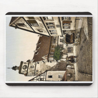 White Tower (i.e. Weisser Turm), Rothenburg (i.e. Mouse Pad