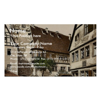 White Tower (i.e. Weisser Turm), Rothenburg (i.e. Pack Of Standard Business Cards