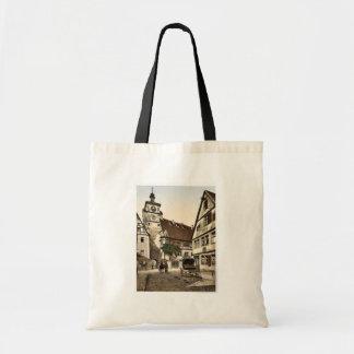 White Tower (i.e. Weisser Turm), Rothenburg (i.e. Budget Tote Bag