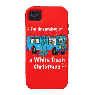 White Trash Christmas iPhone 4/4S Case