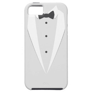 white tuxedo iphone 5 case