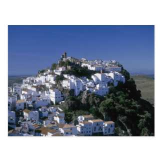 White Village of Casares, Andalusia, Spain Postcard