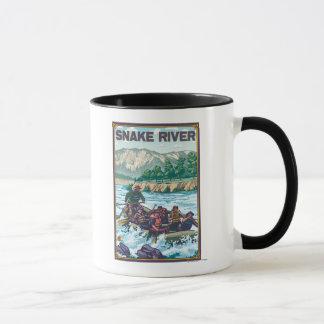 White Water Rafting - Snake River, Idaho Mug