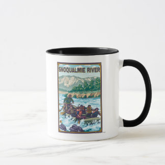 White Water Rafting - Snoqualmie River, Mug