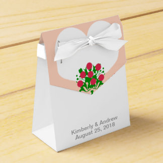 White Wedding Dress Bride Wedding Favor Gift Boxes