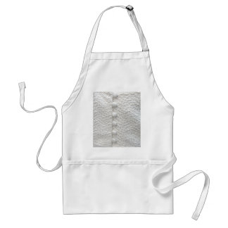 White Wedding I Gown - Customizable Adult Apron