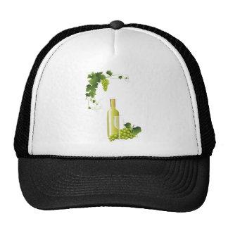 White wine still life trucker hat