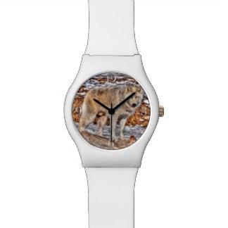 White Wolf Nature and Wildlife Design Watch