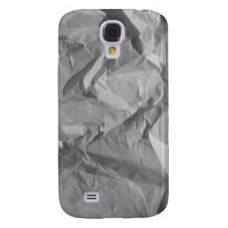 White Wrinkle Paper iPhone 3 Galaxy S4 Case