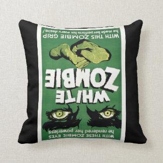 White Zombie Cushion